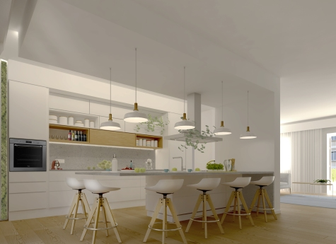 YOUNG COUPLE APARTMENT | http://www.archilovers.com/projects/174288/appartamento-per-una-giovane-coppia-apartment-for-a-young-couple.html