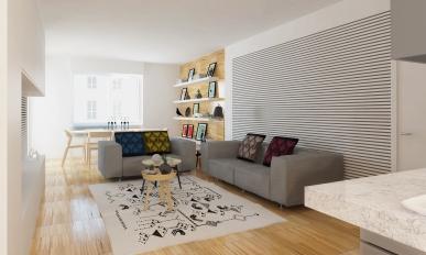 APARTMENT REFIT   http://www.archilovers.com/projects/174282/ristrutturazione-appartamento-modern-apartment.html
