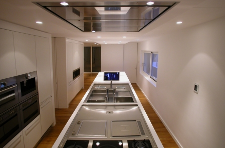 ECO LUXURY HOUSE   KITCHEN   http://www.archilovers.com/projects/64944/cucina-abitabile-ad-isola.html