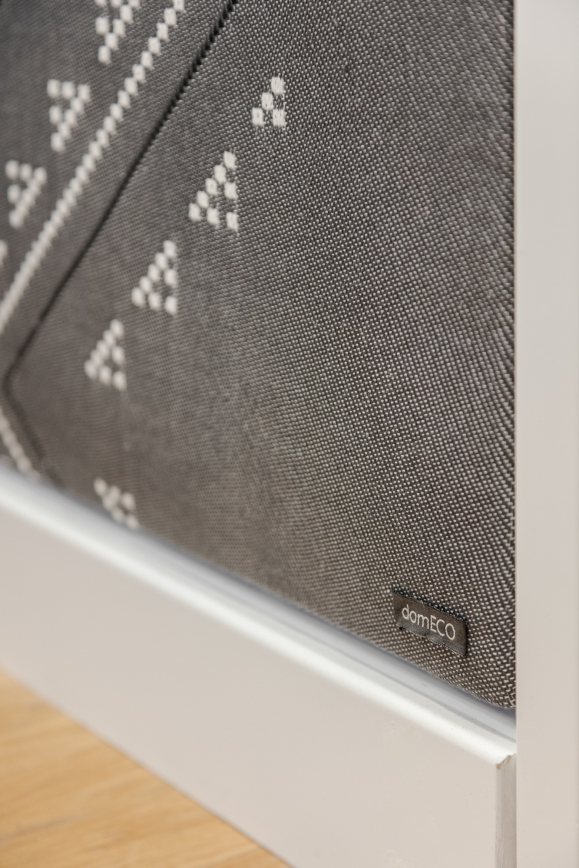 SOUND PROOF TEXTILE PANELS BY DOMECO + MARIANTONIA URRU   http://www.archilovers.com/projects/206272/dental-studio.html