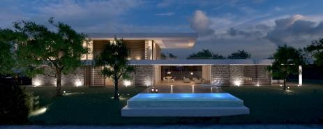XLAM VILLA | http://www.archilovers.com/projects/150559/private-villa.html