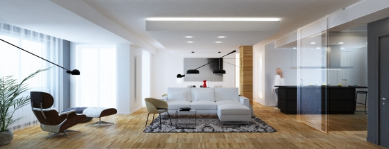 MODERN YOUNG COUPLE APARTMENT | http://www.archilovers.com/projects/215828/modern-apartment-appartamento-moderno.html