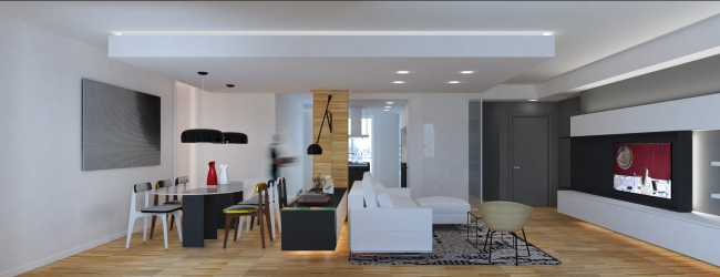 MODERN YOUNG COUPLE APARTMENT   http://www.archilovers.com/projects/215828/modern-apartment-appartamento-moderno.html