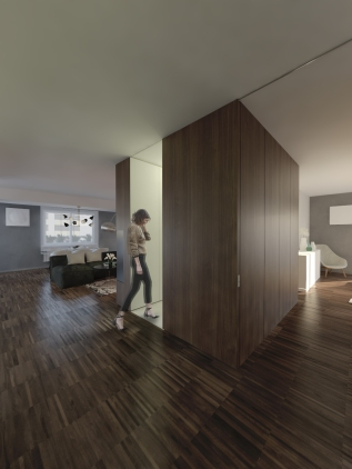 WALNUT APARTMENT | TREVISO http://www.archilovers.com/projects/225213/walnut-apartment-appartamento-in-noce.html
