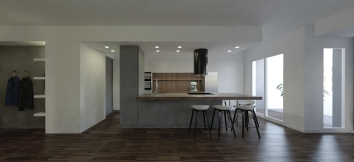 WALNUT APARTMENT   TREVISOhttp://www.archilovers.com/projects/225213/walnut-apartment-appartamento-in-noce.html