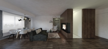 WALNUT APARTMENT   TREVISO http://www.archilovers.com/projects/225213/walnut-apartment-appartamento-in-noce.html